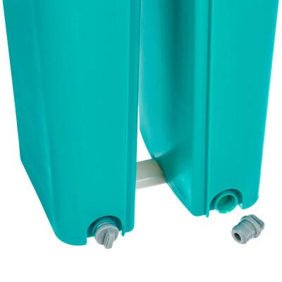 Швабра Bradex вертикальный отжим бирюзовая 3,5 л td 0699