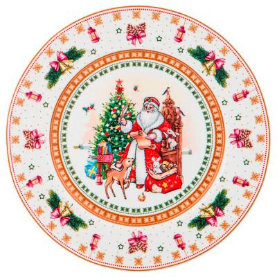 Тарелка 21см Lefard рождественская коллекция 586-451
