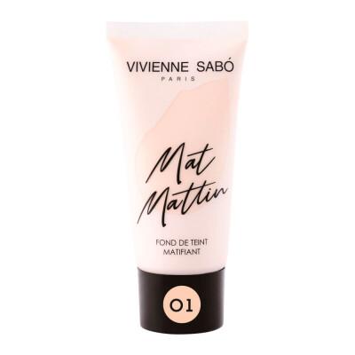 Крем для лица Vivienne Sabo тональный матирующий тон 01