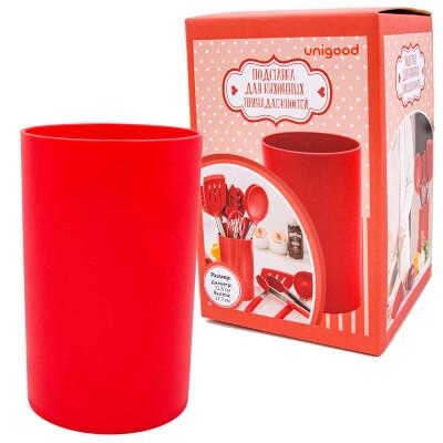 Набор кухонных принадлежностей 8пр Unigood красный