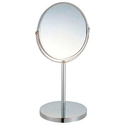 Зеркало косметическое двустороннее на ножке m-1605