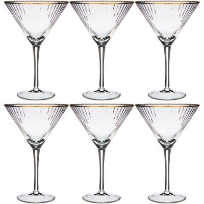 Набор бокалов для мартини 350мл 6шт Lefard рим 693-006