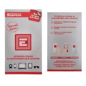 Салфетка-стикер Европа для экранов микрофибра