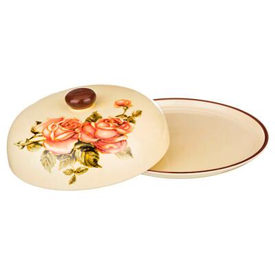 Блюдо для блинов 10*23см Agness корейская роза крынка крышка 358-466
