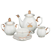 Чайный сервиз 15пр 6 персон Lefard венеция 55-2300
