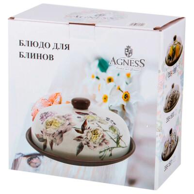 Блюдо для блинов 23*23*10см Agness вдохновение 358-1600