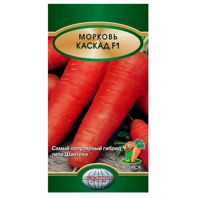 Морковь Каскад f1 0,5г Поиск