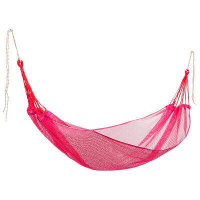 Гамак-сетка Ecos с чехлом 200*120см розовый поливискоза hm-337 9337