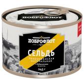 Сельдь Доброфлот № 6 245г ндм ж/б ключ