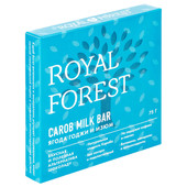 Шоколад Royal Forest кэроб Milk Bar 75г ягоды годжи и изюм
