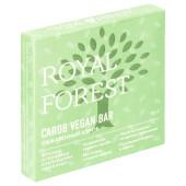 Шоколад Royal Forest кэроб веган бар 75г обжаренный кэроб
