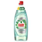 Средство для мытья посуды Fairy 650мл Pure and Clean мята и эквалипт