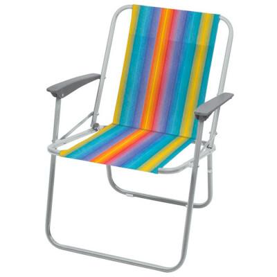 Кресло складное 4 Nika радужный кс4/р