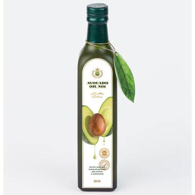 Масло авокадо 500мл гипоаллергенное ст/б