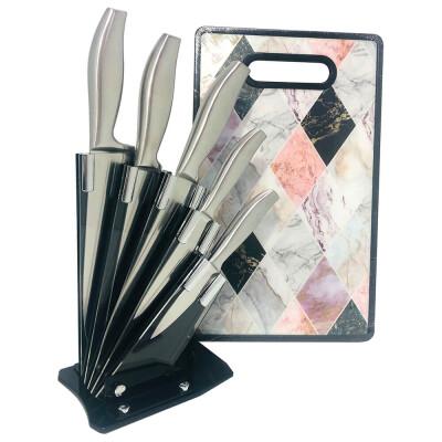 Набор ножей Европа 6пр + доска разделочная в подарок №2