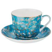 Чайный набор 2пр 1 персона 500мл Lefard Цветущие ветки миндаля 104-652