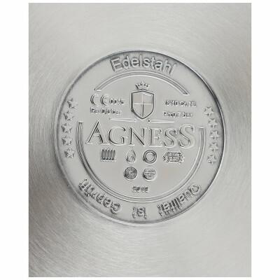 Скороварка 7л Agness нержавеющая сталь 936-107