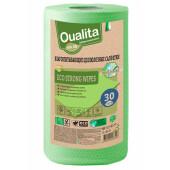 Салфетки Qualita 30шт Eco Strong рулон