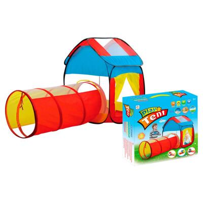 Палатка детская Maya toys домик с тоннелем 995-7012a