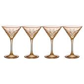 Набор фужеров 230мл 4шт таймлис шампань 484-785