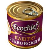 Паштет Ecochief 250г львовский гост ж/б ключ
