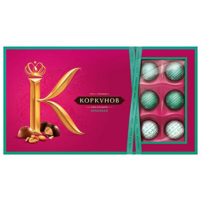 Конфеты Коркунов 192г ореховая коллекция одинцовская кф
