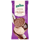 Хлебцы др. корнер 67 г рисовые с молочным шоколадом