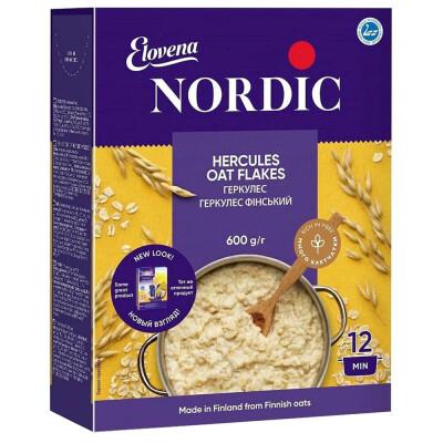 Хлопья Nordic 600г геркулес