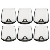 Набор стаканов для виски 6шт 310мл богемия кристалл исландс 674-520