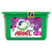 Капсулы для стирки Ariel 12шт колор всё в1 экстра защита ткани