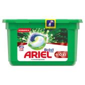 Капсулы для стирки Ariel 12шт всё в1 экстра окси эффект