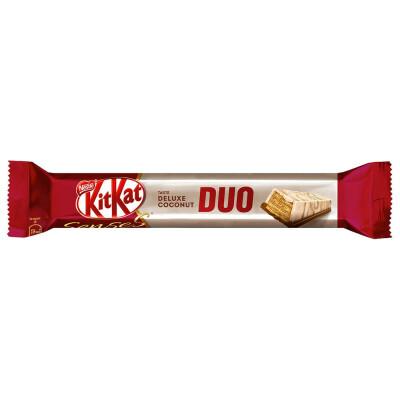 Шоколадный батончик KitKat 58г сенсенс делюкс кокос дуо нестле