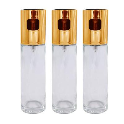 Акция 2+1 Набор распылителей Европа 17,5см золотой пластик+стекло yj-008 (3 шт)