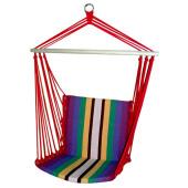 Гамак-кресло цветной хлопок разноцветная полоска
