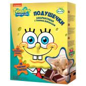 Подушечки амарантовые Губка Боб с  шоколадной начинкой витамизированные 220г