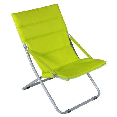 Кресло складное Ирис желтый/серый wr1428-мт001