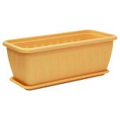 Ящик балконный 60см 10л алиция белая глина м3215
