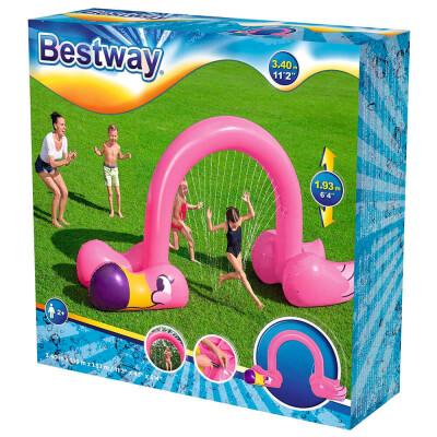 Игрушка надувная BestWay фламинго 340*110*193см с распылителем 5309764 52382