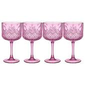 Набор фужеров для вина 500мл 4шт Timeless аметист 484-769