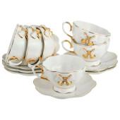 Чайный набор 12пр 6 персон Lefard венеция 55-2554