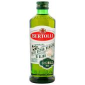 Масло Bertolli 500мл оливковое Extra Virgin нерафинированное ст\б