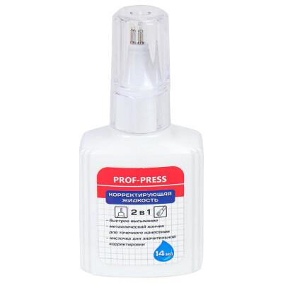 Жидкость корректирующая Проф-Пресс 2в1 14мл к-0212