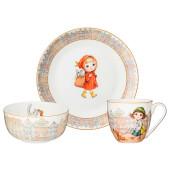 Набор посуды обеденный 3пр Lefard Fashion princess 415-2196