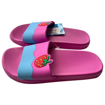 Обувь пляжная детская н6466  р 34  сиреневые