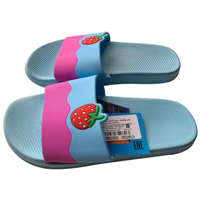 Обувь пляжная детская н6466  р 35 голубые