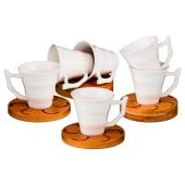 Кофейный набор 12пр 6 персон 100мл Lefard нэйтив 587-123