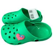 Пантолеты пляжные детские крос  ек-16м13 р 30-31  зеленые