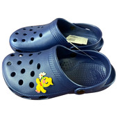 Пантолеты пляжные детские крос  ек-16м13 р 34-35 синие