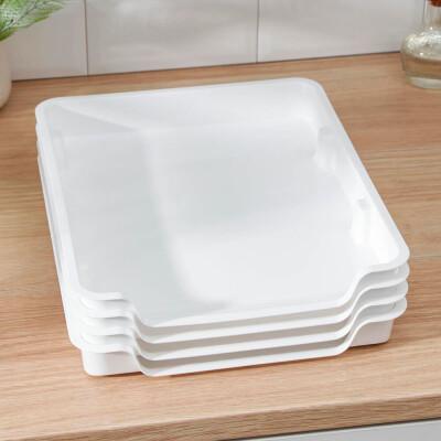 Набор лотков 4шт для заморозки продуктов Альтернатива 2644992