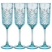 Набор фужеров для шампанского 175мл 4шт TIMELESS топаз 484-774